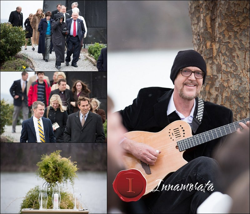 Snow Outdoor Wedding