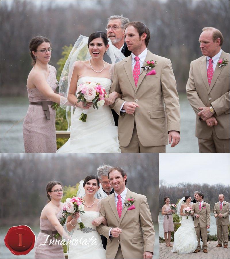 Snowy Outdoor Wedding