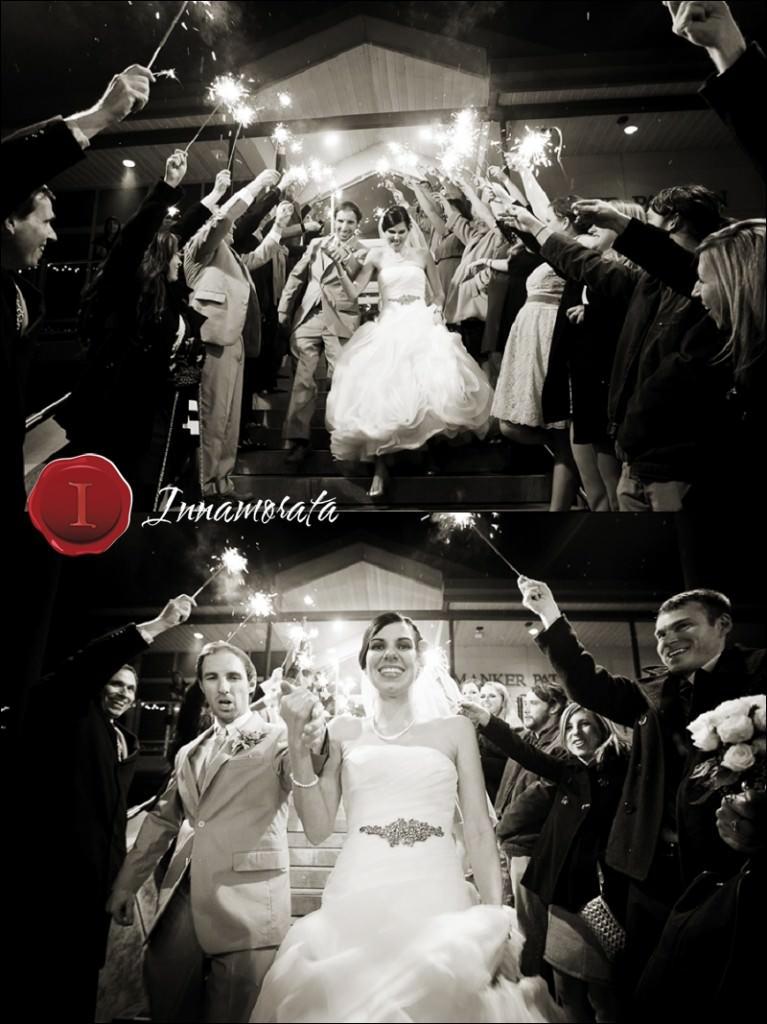 Sparkler Exit Wedding Manker Patten Chattanooga