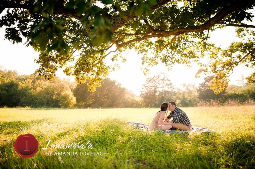 engagement photos chattanooga tn dalton ga ringgold love kiss