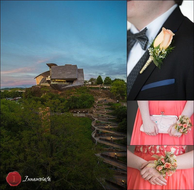 Hunter Museum Gala Prom Photography
