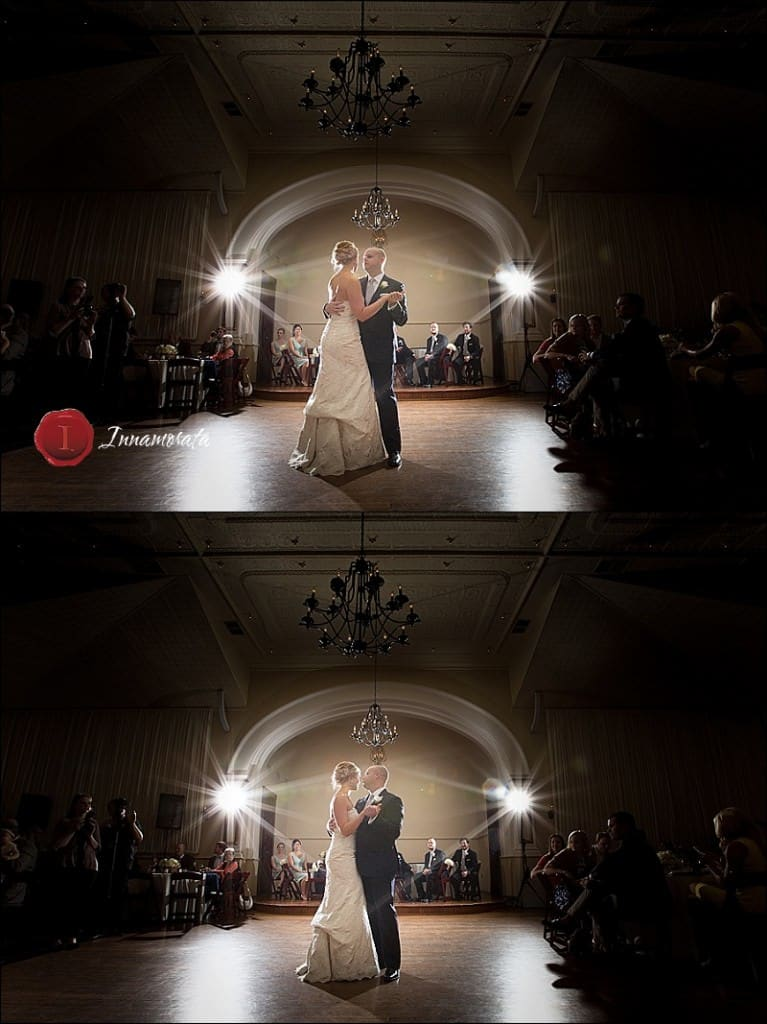 Wedding Reception at Lindsay Street hall Chattanooga Tennessee