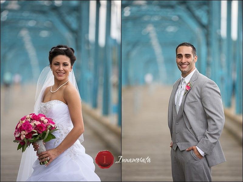 Wedding Walnut Street Bridge Chattanooga