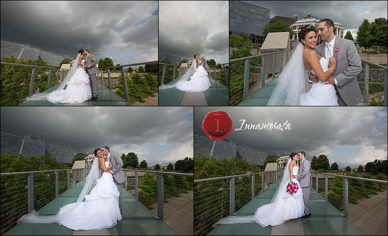 Hunter Museum Wedding Photos