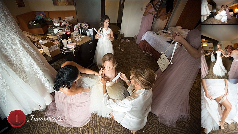Chattanooga Wedding Day Getting Ready