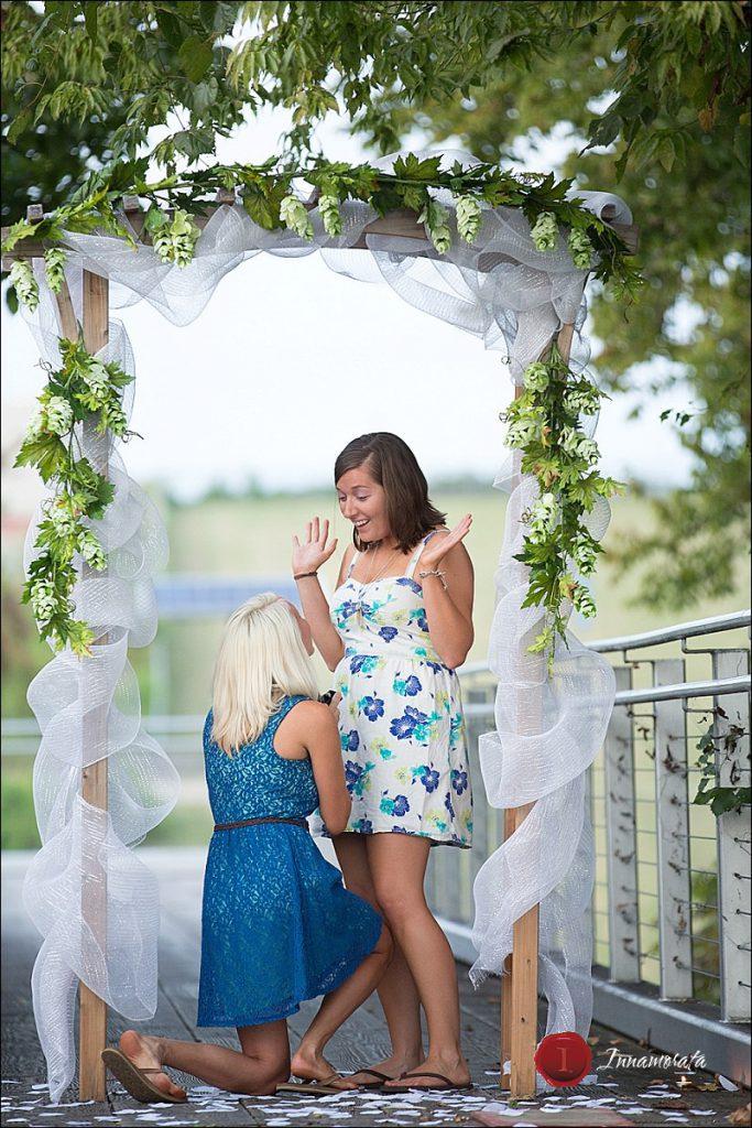 Same Sex Wedding Proposal Chattanooga