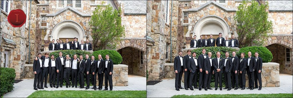 Wedding Party Lookout Mountain Presbyterian Church Chattanooga Photographer