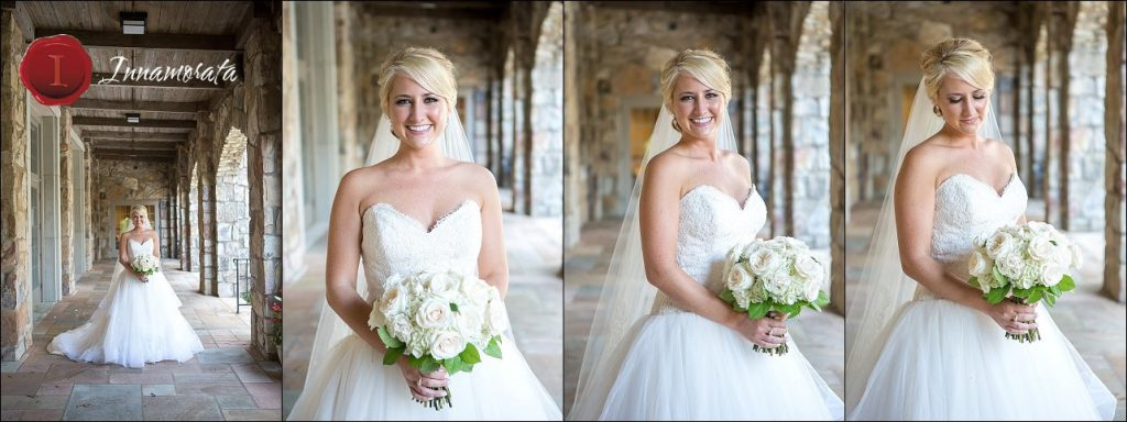 Bridal Portrait Lookout Mountain Presbyterian Church Chattanooga Wedding Photographer