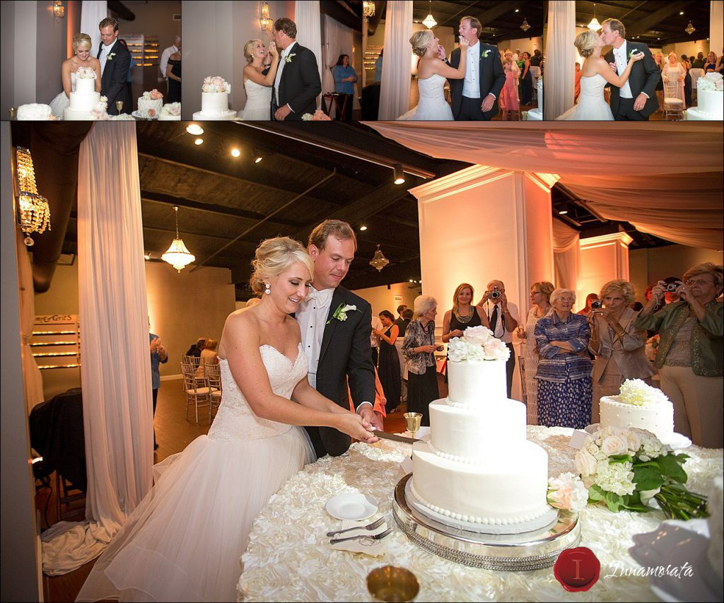 Sweet Angel Cakes Stratton Hall Wedding Reception Chattanooga Wedding Photographer