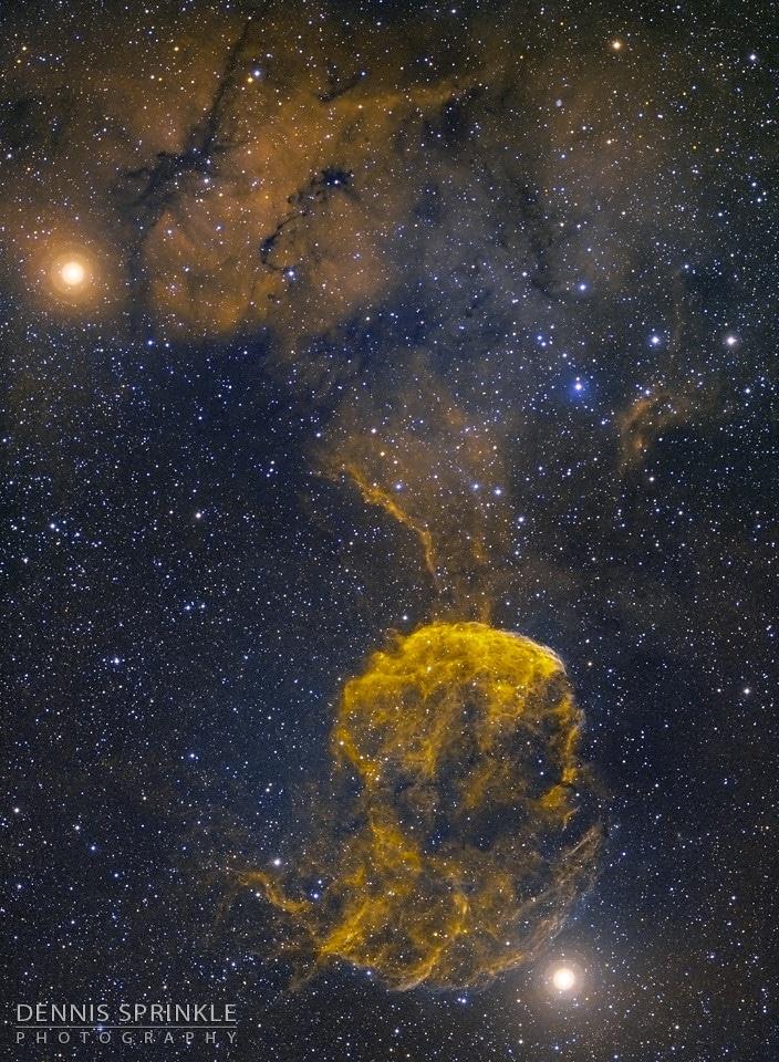 IC 443 - Jellyfish Nebula Mosaic