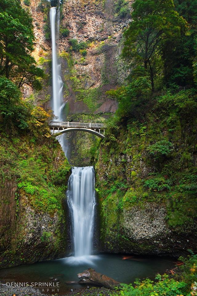 Multnomah Falls in Oregon