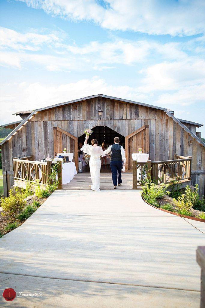 Brides Walking Down the Aisle