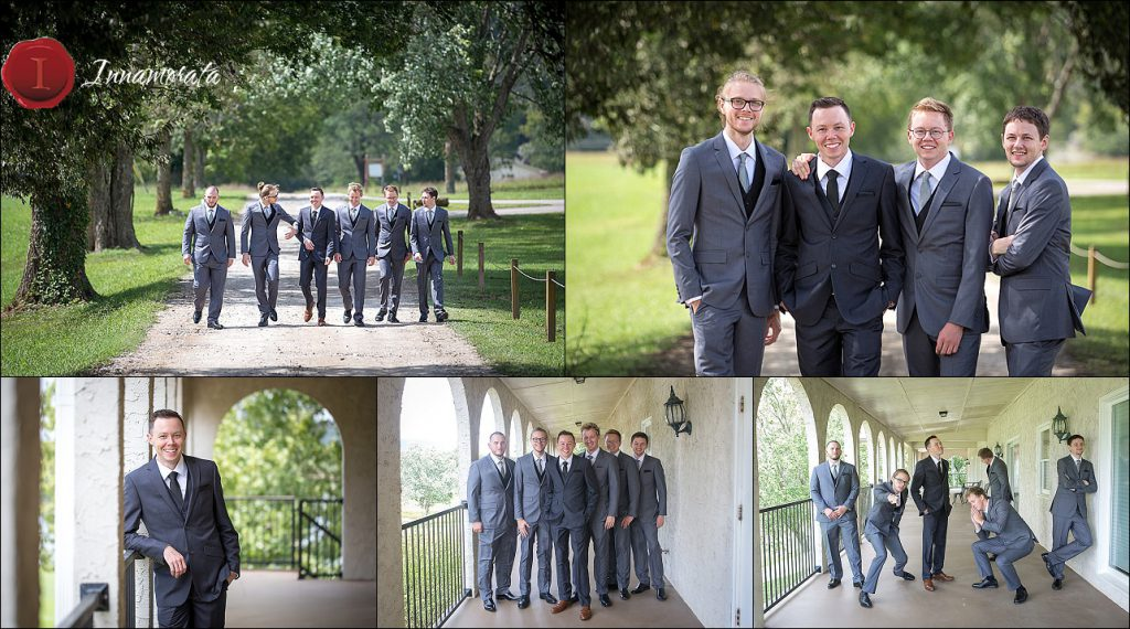 Groomsmen at Tennessee Riverplace