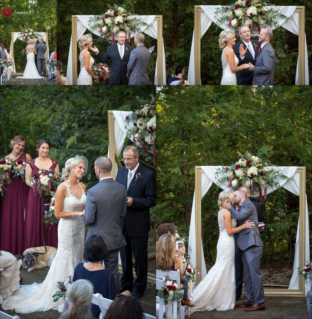 Wedding Ceremony at Grandview on Lookout Mountain