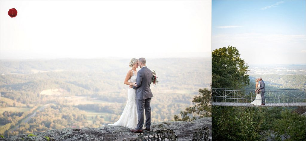 Grandview Lookout Mountain Wedding