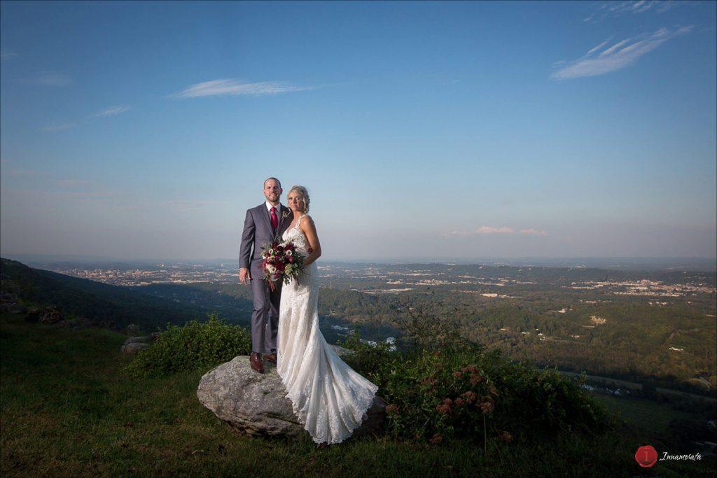 Wedding Couple at Rock City